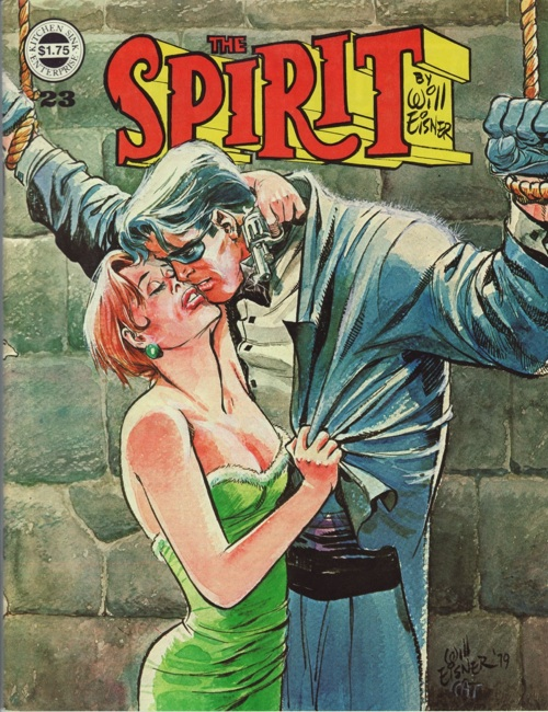 Spirit Magazine No. 23 by Will Eisner