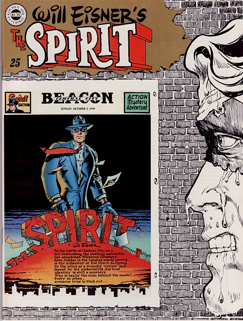 Spirit Magazine No. 25 by Will Eisner