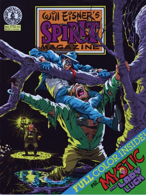 Spirit Magazine No. 41 by Will Eisner