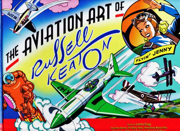 Aviation Art of Russell Keaton HC Book