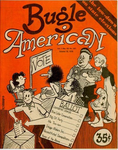 Bugle American No. 261 (Oct. 15, 1976)