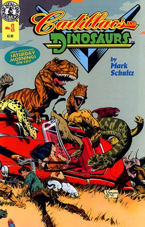 Cadillacs & Dinosaurs No. 1 in FULL COLOR