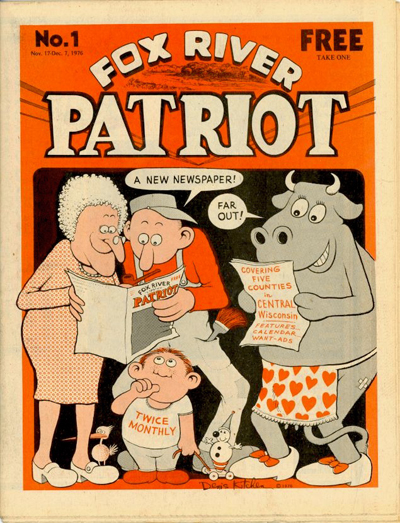 Fox River Patriot No. 01 (Nov-Dec 1976) Kitchen Cover