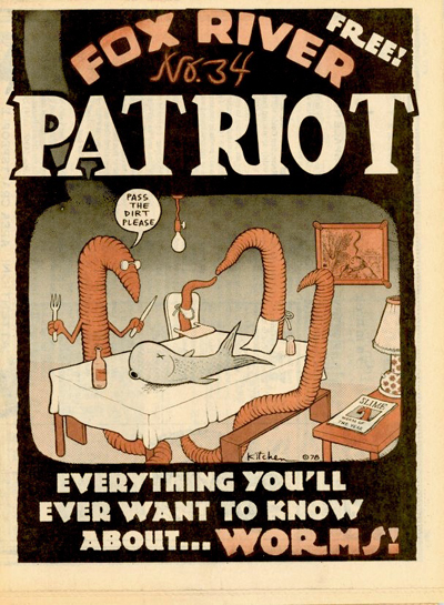 Fox River Patriot No. 34 (Apr 3-16, 1978) Kitchen Cover