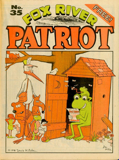 Fox River Patriot No. 35 (Apr-May, 1978) Kitchen Cover